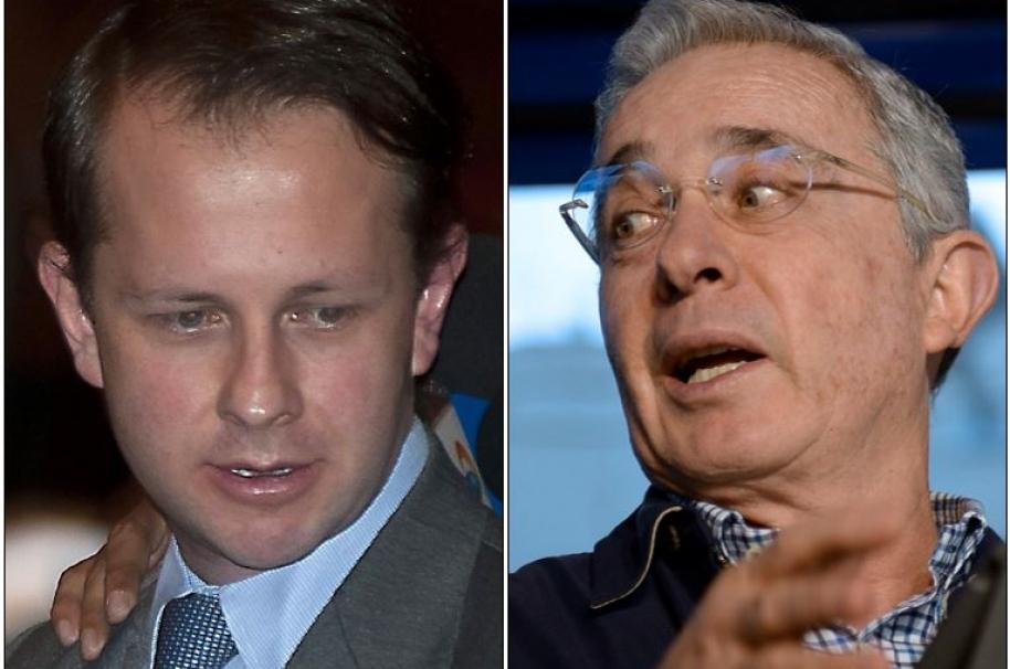 Andrés Felipe Arias y Álvaro Uribe Uribe