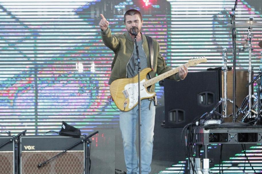 Juanes, cantante colombiano.