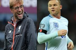Klopp y Rooney