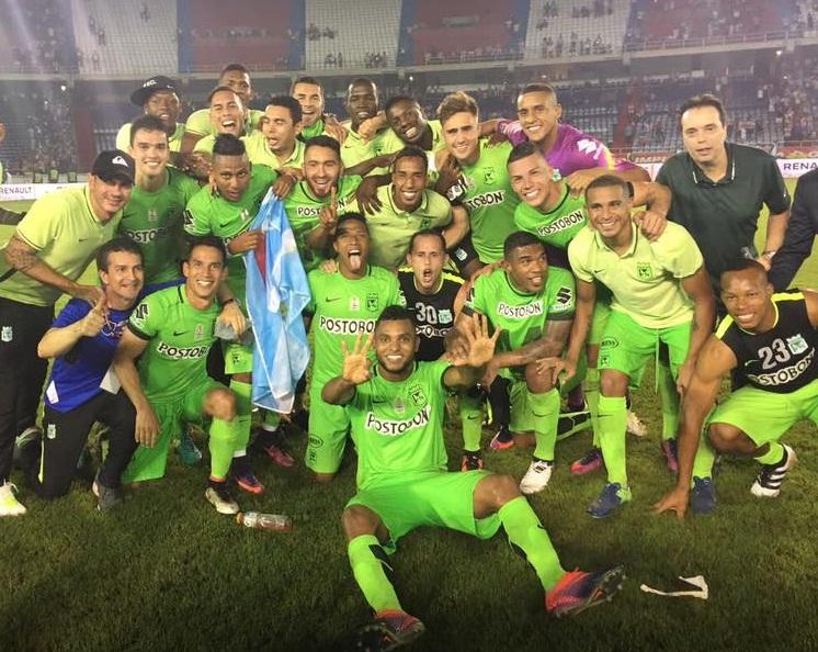 Nacional Campeón Copa Águila