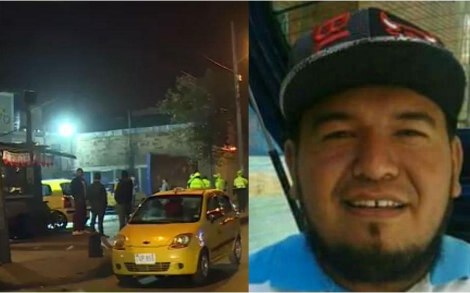 En este lavadero fue asesinado el taxista Carlos Vargas (foto derecha).