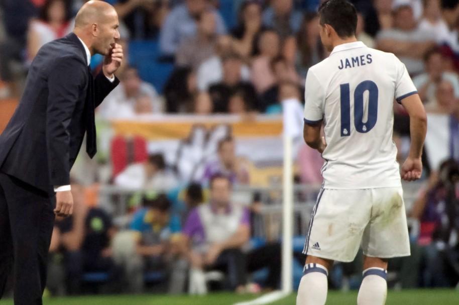 Zidane James AFP