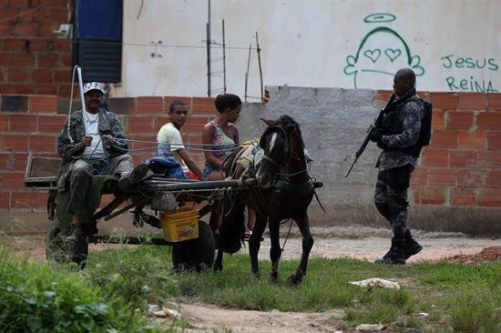 Operativo en favela de Río