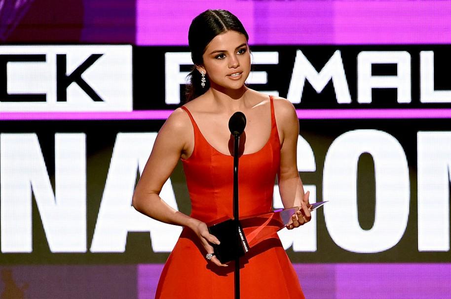 Selena Gómez discurso American Music Awards