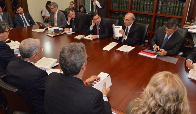 Diálogo nacional sobre acuerdo con las Farc
