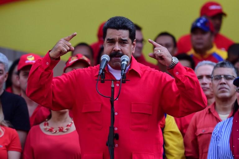 Maduro durante una alocución en Caracas, Venezuela, el 25 de octubre. Pulzo.com