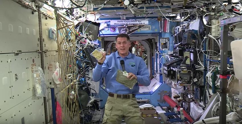Menú de astronautas para celebrar Día de Acción de Gracias. Pulzo.com