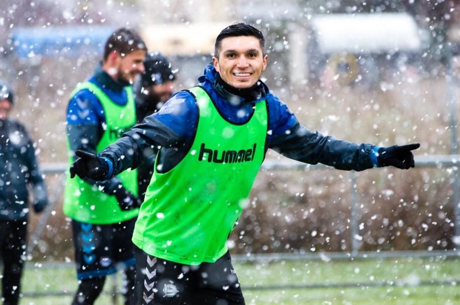Daniel Torres nieve