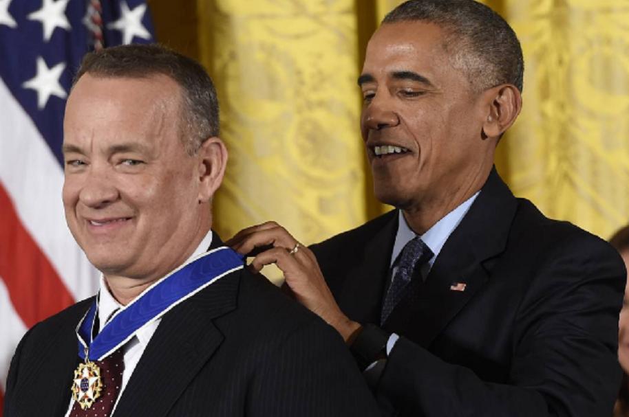 Tom Hanks Medalla de la Libertad