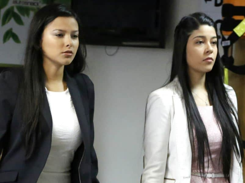 Laura Moreno y Jessy Quintero