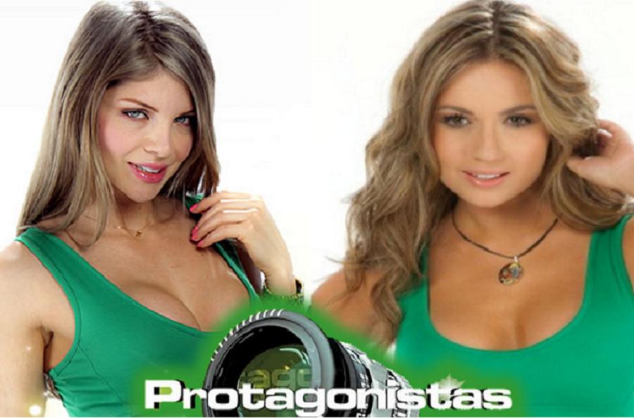 Angélica Jaramillo y Sara Uribe, exprotagonistas de Novela.