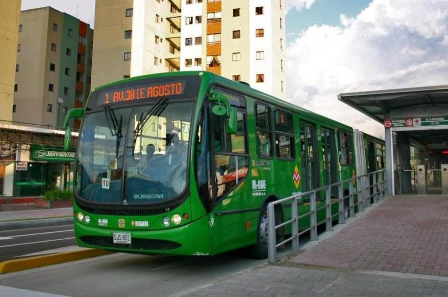 Megabús en Pereira