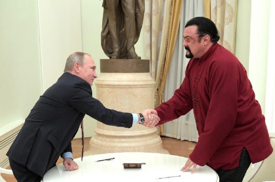 Putin y Seagal