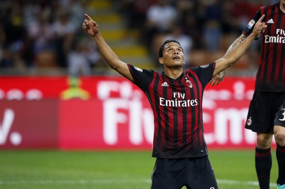 Carlos Bacca, futbolista del Milan y la Selección Colombia.