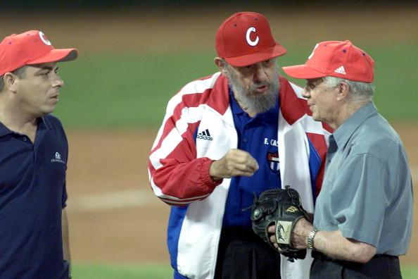 Jimmy Carter visitó Cuba