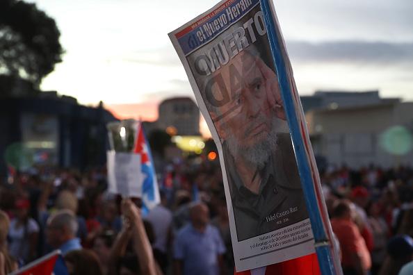 Reacciones por muerte de Fidel Castro