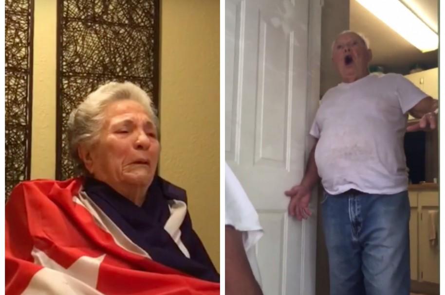 Ancianos cubanos exiliados, felices por muerte de Fidel Castro. Pulzo.com