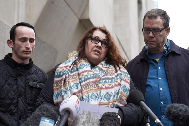 Mandy Pearson madre de una de las víctimas.