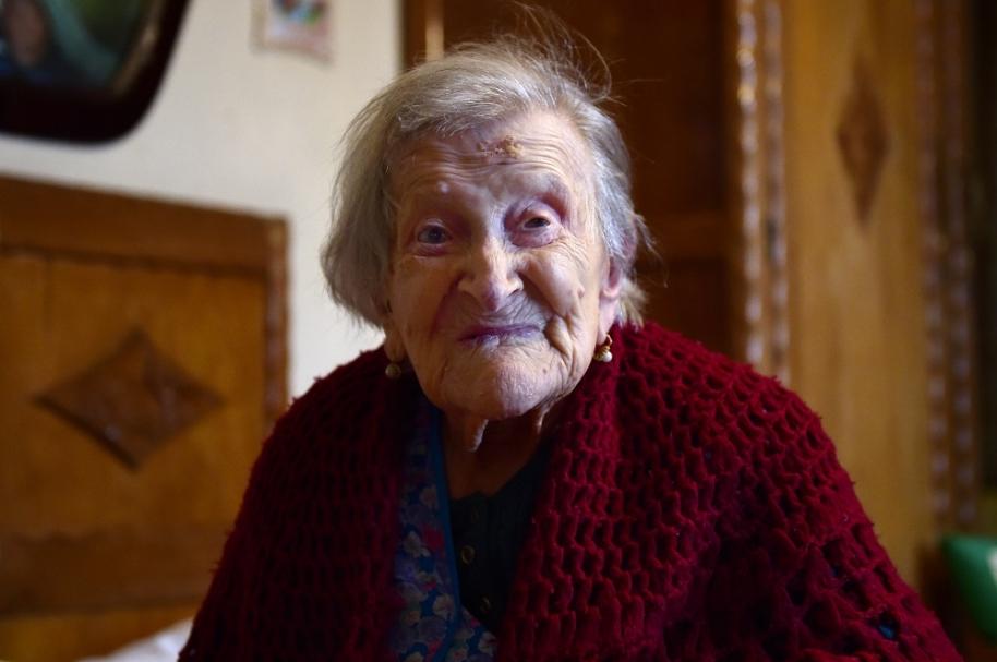 Emma Morano es la persona más vieja del mundo
