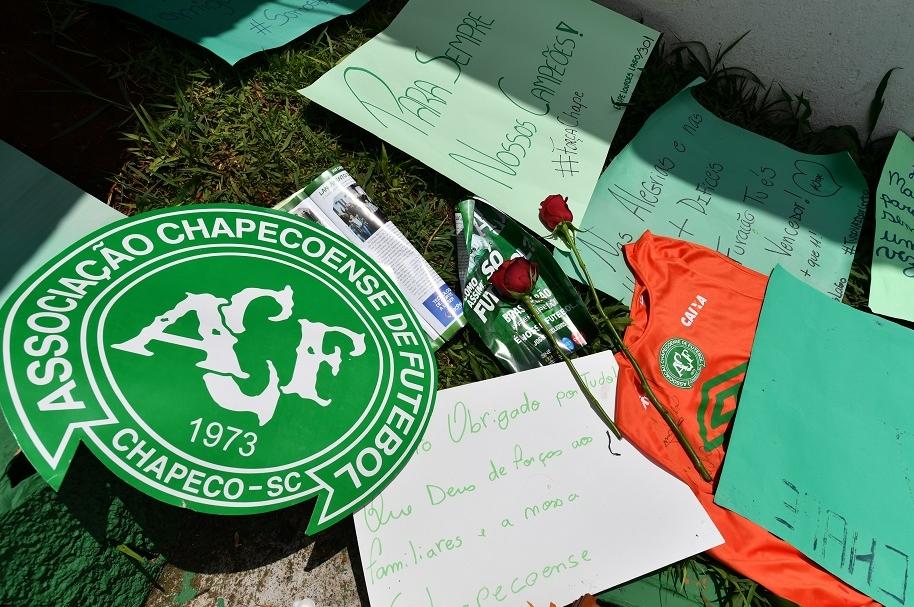 Homenaje a Chapecoense
