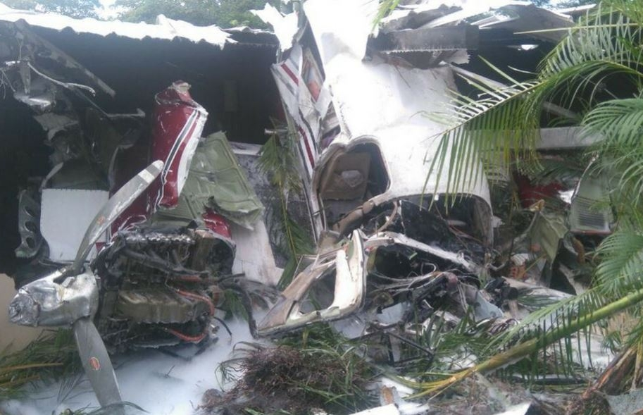 Accidente de avioneta en Villavicencio