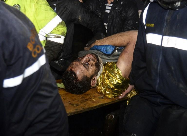Helio Neto siendo rescatado. Pulzo.com