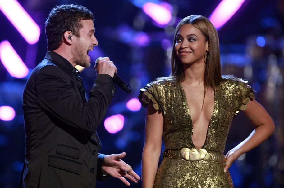 Justin Timberlake y Beyoncé