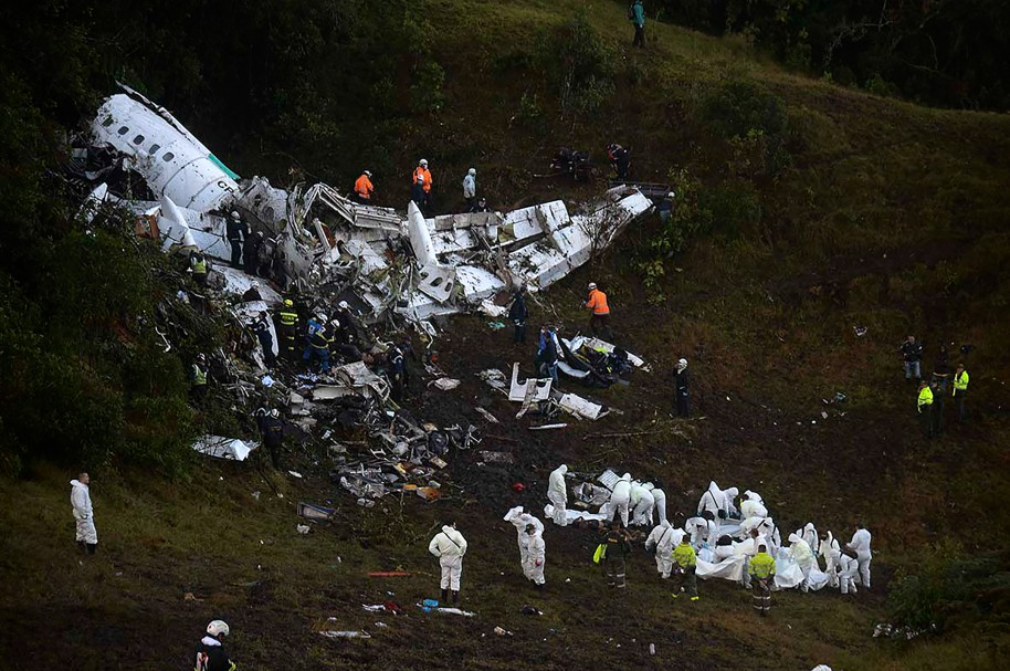 Avión tragedia Chapecoense