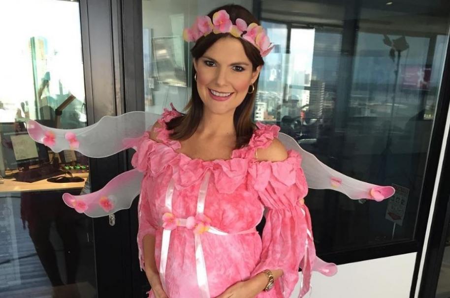 Rochi Stevenson, presentadora de 'Día a día'.