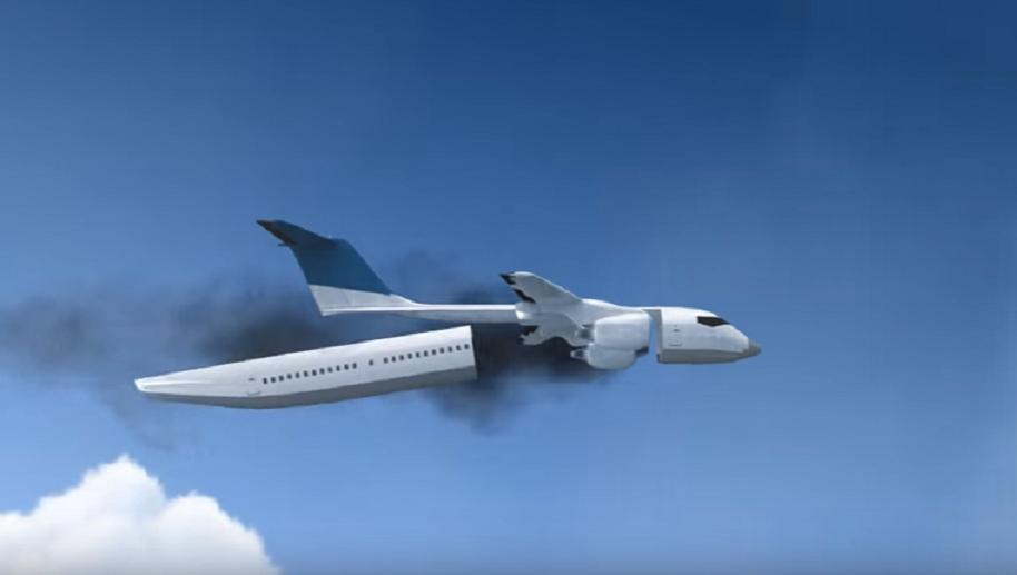 Esta cápsula salvaría miles de vidas en accidentes aéreos