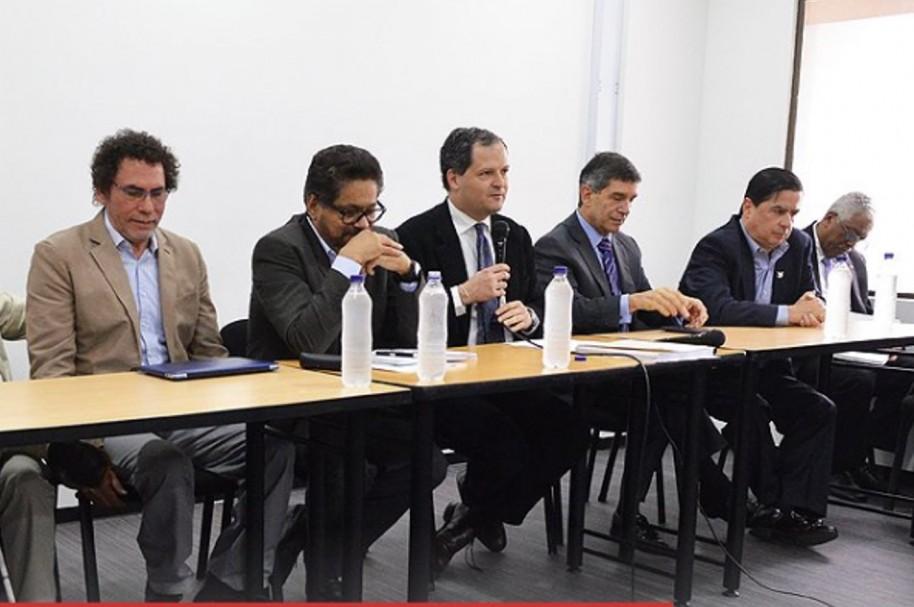 Comisión de Gobienno y Farc