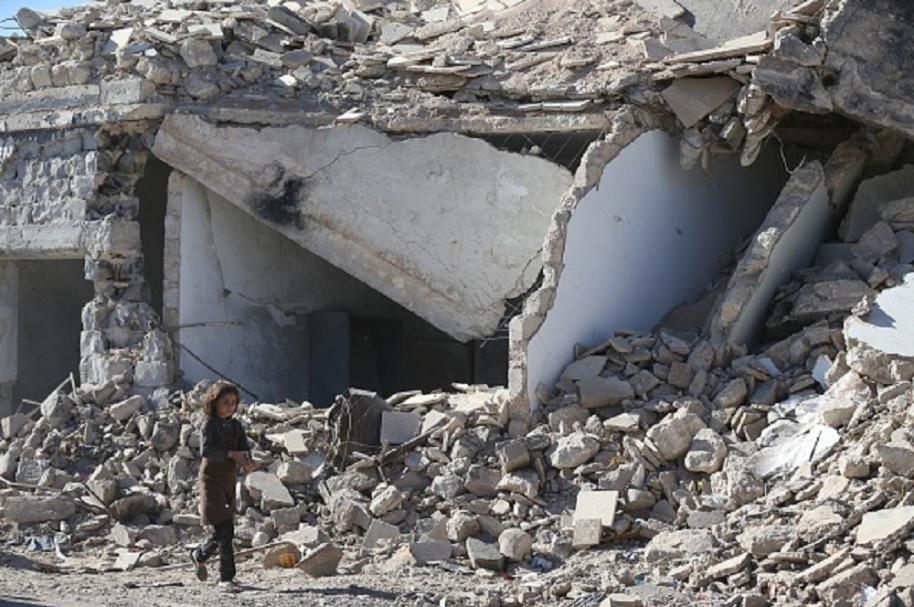 Aviones rusos bombardean provincia en Siria