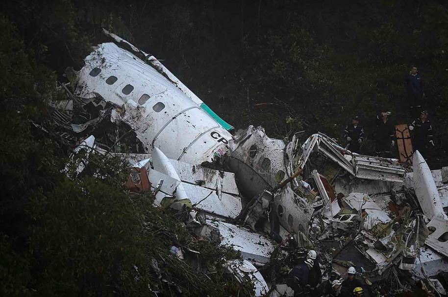 Siniestro aéreo de Lamia en Colombia