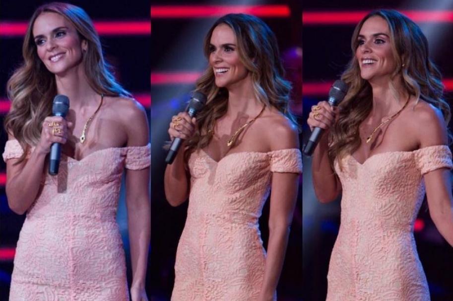 Karen Martínez, presentadora de 'La voz teens'.