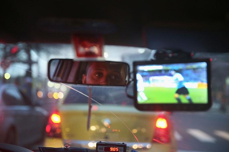 Taxistas agresivos