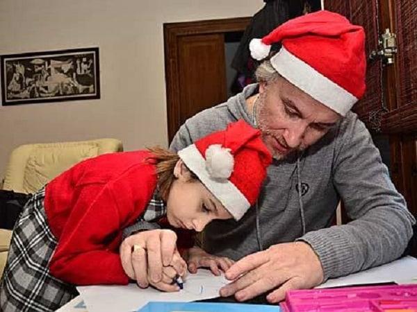 Fernando Blanco y su hija Nadia Nerea