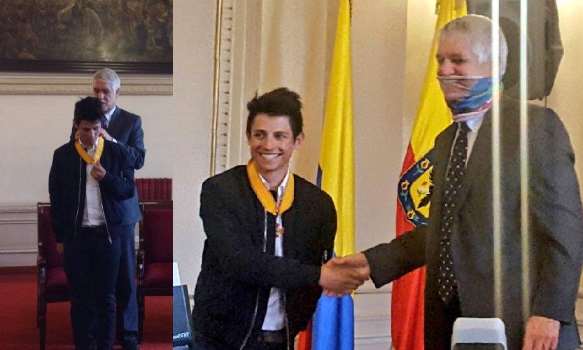 Enrique Peñalosa y Esteban Chaves