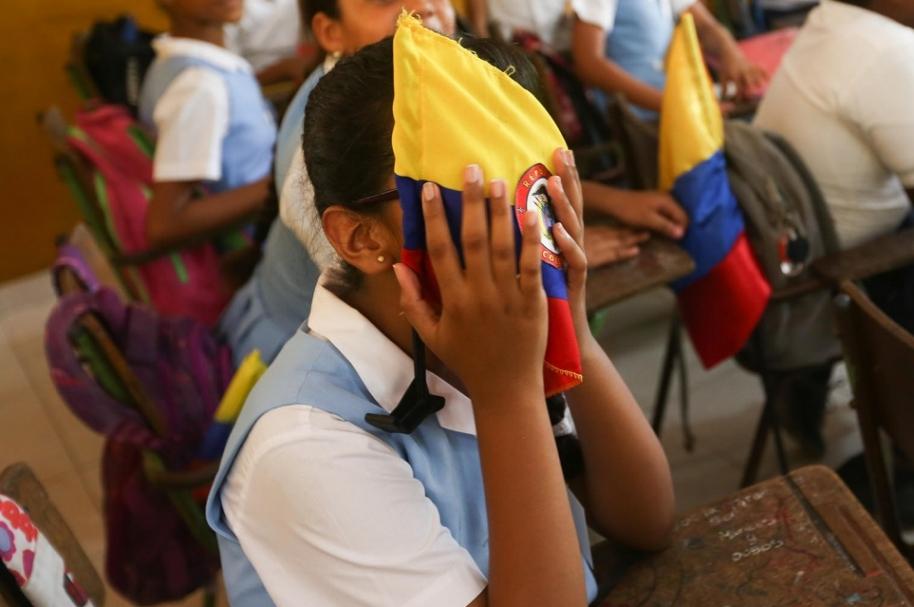 Estudiantes de Colombia