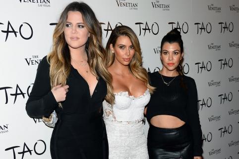 Khloe Kardashian, Kim Kardashian y Kourtney Kardashian