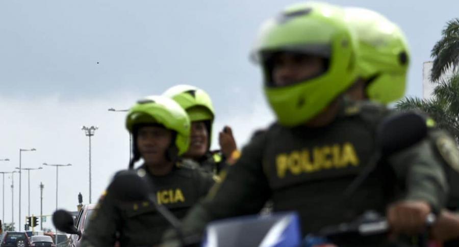 Policías ilustración