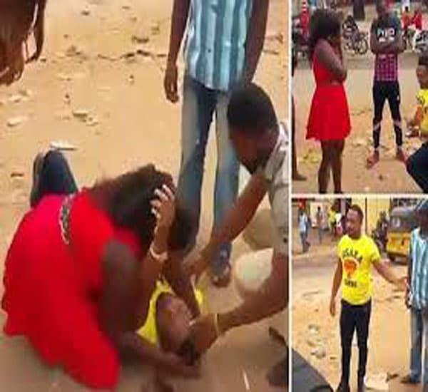 Hombre finge estar muerto y sorprende a su novia con propuesta de matrimonio.