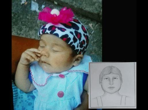 Bebé raptada en Cali con retrato hablado de presunta secuestadora. Pulzo.com