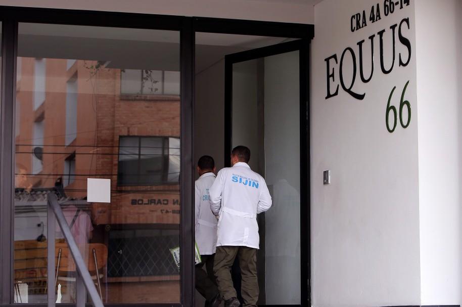 Edificio donde vive Rafael Uribe Noguera, presunto asesino de Yuliana Samboní