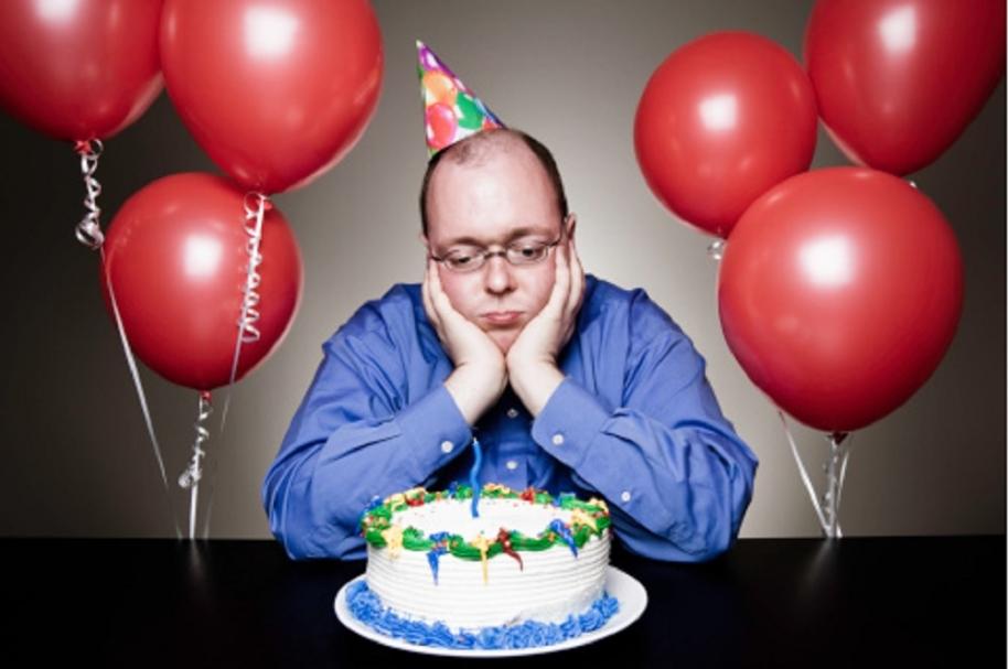 Triste cumpleaños