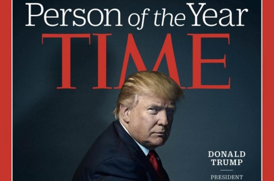 """Donald Trump fue elegido como """"persona del año"""" por la Revista Time. Pulzo.com"""