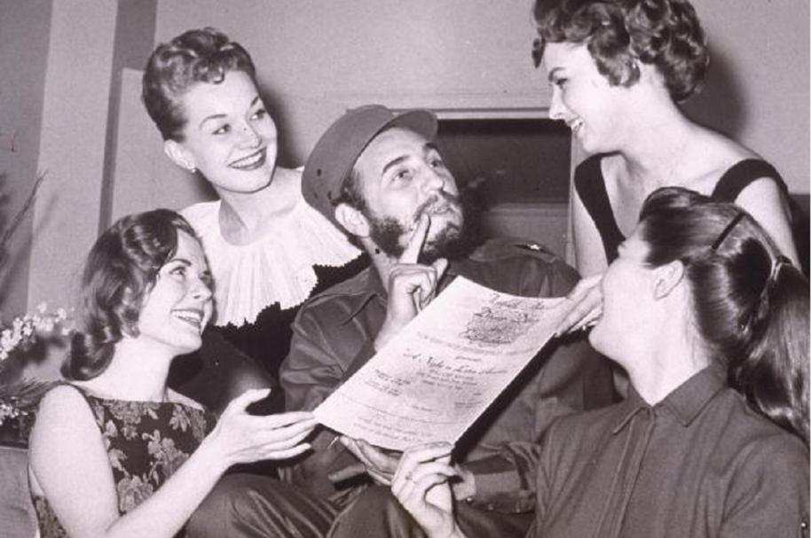 Fidel Castro y sus mujeres