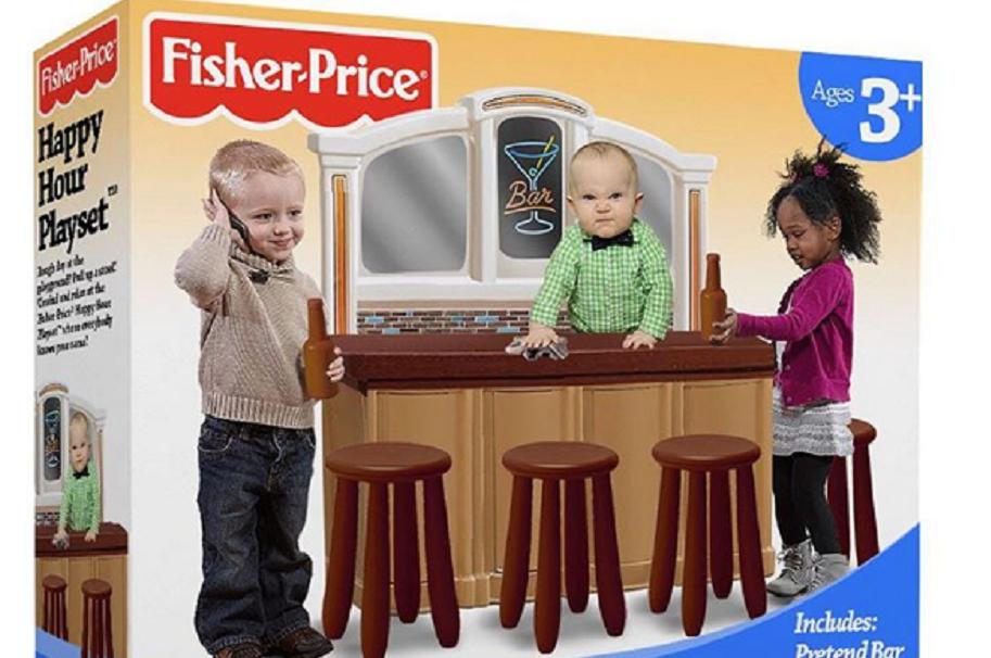 Juguete Fisher Price falso