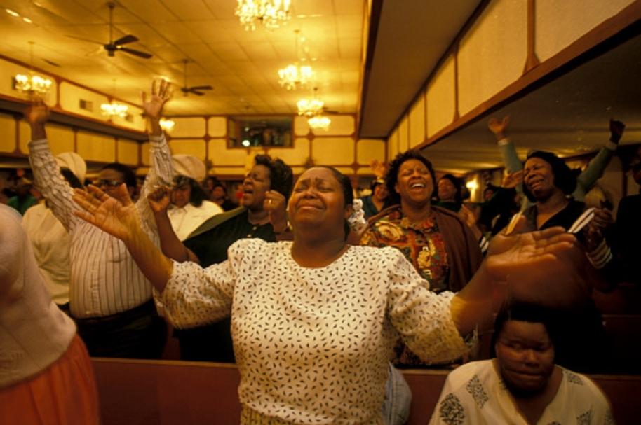 Iglesia de comunidad negra
