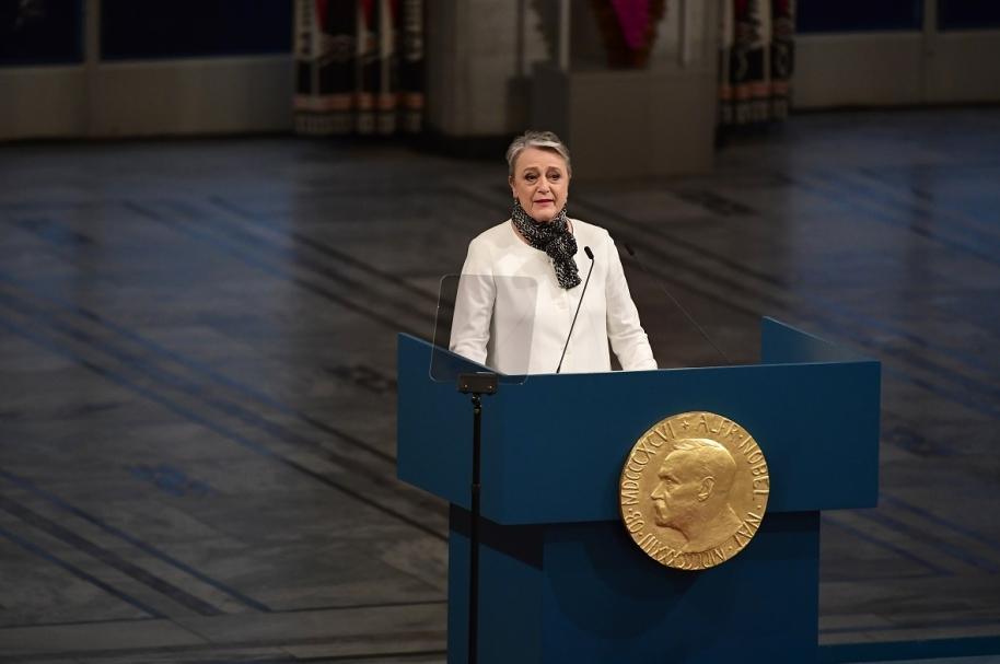 Berit Reiss-Andersen, vicepresidenta del Comité Noruego.