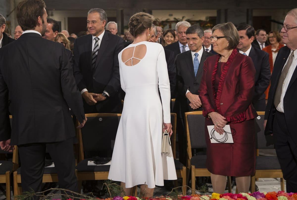 Vestido de la primera dama de Colombia
